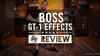 Boss GT 1 Guitar Effects Processor Review   Better Music