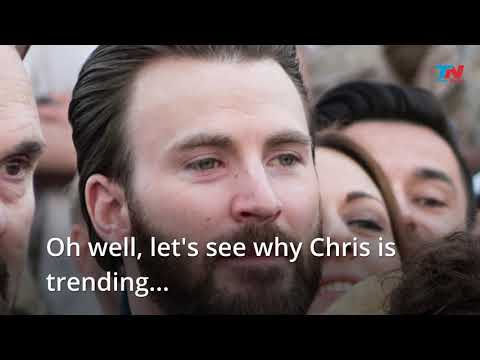 Chris Evans accidentally LEAKS a photo of his 'package' and causes social media meltdown