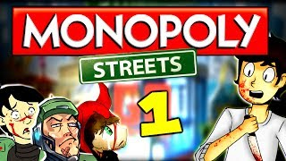 Diabolical Monopoly is Back! (Monopoly Streets Part 1 w/ The Derp Crew)