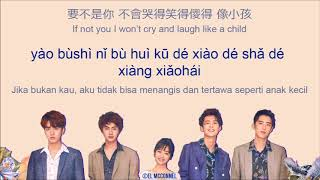 [CHN | PINYIN | ENG | INDO LYRICS] WEI QI QI (魏奇奇)   LOVE, EXISTS (愛,存在) (METEOR GARDEN 2018 OST)