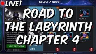 Road To The Labyrinth Chapter 4 100% - Free To Play Progression! - Marvel Contest Of Champions