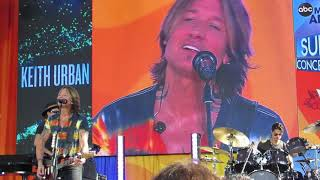 Keith Urban We Were Acoustic Live At Good Morning America