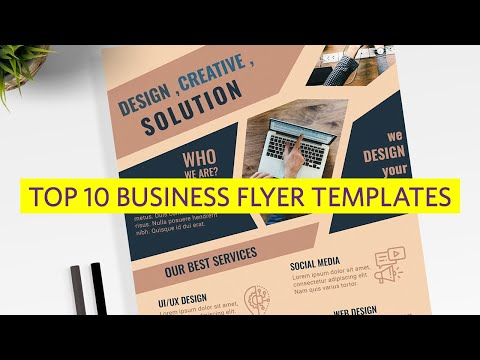 , title : 'Top 10 Business Flyer Templates