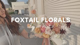 Studio Vlog #1 Part 2   A Week in the Life of a Florist