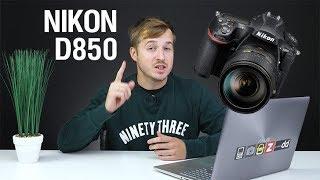 Nikon D850 - 10 киллер фич, от которых отвисает челюсть