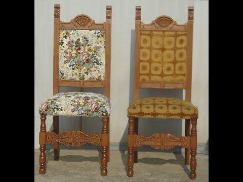 30j. alten stuhl reparieren/ subtext english