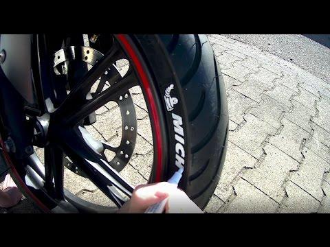 How to: Reifen beschriften || Yamaha Yzf-r 125 || Michelin Pilot Street
