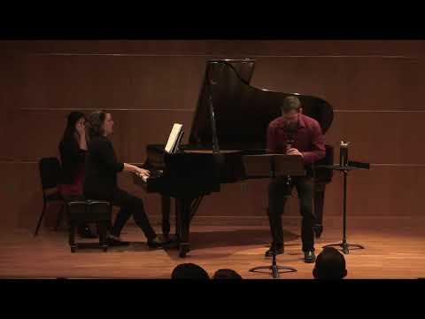 Bryce Kyle, clarinet  with Emily Grabinski, piano Grace Brylinski, piano Kayla Torres, bassoon