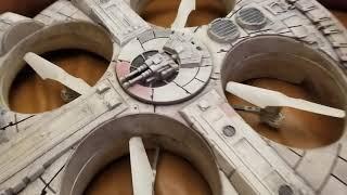 Star Wars Millennium Falcon Drone Quadcopter DJI Phantom Upgrade