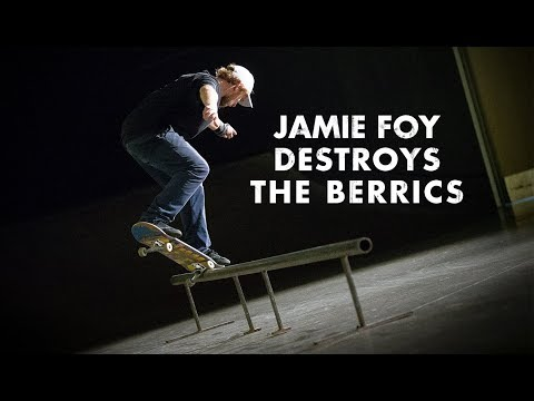4 Minutes Of Jamie Foy Destroying The Berrics