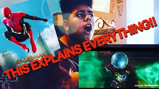 ENDGAME WAS JUST THE BEGINNING!! | SPIDER-MAN: Far from home Trailer REACTION