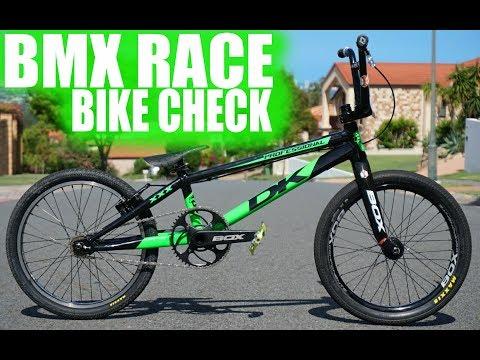 BMX RACE BIKE CHECK w/ Bodi Turner // Vlog_40
