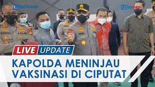 Gencarkan Vaksinasi di Wilayah Kampus, Kapolda Metro Jaya Minta Mahasiswa Edukasi di Lingkungannya