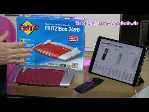 AVM FritzBox 7490 für Telekom MagentaZuhause (DSL / VDSL)