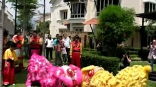 Adora Desa ParkCity Chinese New Year Open House 2009 Lion Dance