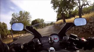preview picture of video 'Yamaha YZF-R125 Mallorca2012 (Girl driving 2.time)'