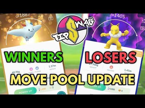 Pokemon GO Move Update | Winners & Losers
