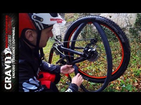 MTB Tutorial: Fahrradschlauch flicken | Reifen de-/montieren | Leo Kast