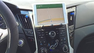 How to install an iPad mini in your car the easy way! - dooclip.me