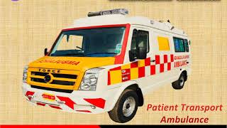Medical Amenities are in Ambulance Service in Patna and Darbhanga