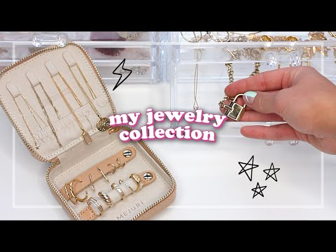 MY JEWELRY COLLECTION ☆ most worn pieces, storage, fave brands + MORE!