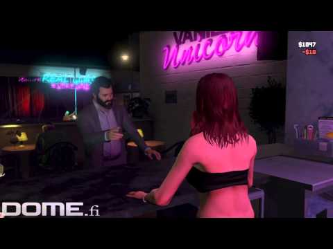 Grand Theft Auto V Gameplay Girls, Booze & Drugs