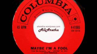 Aretha Franklin - Are You Sure / Maybe I'm A Fool - 7″ - 1961