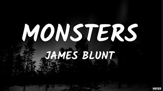 James Blunt   Monsters (Lyrics)
