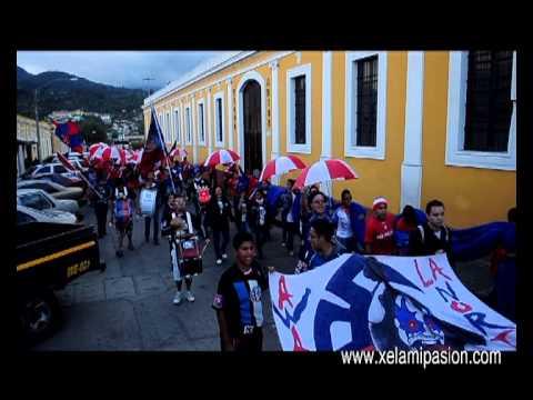 """""""Caminata Sexto Estado, partido de vuelta Xelajú VS Malacateco"""" Barra: Sexto Estado • Club: Xelajú"""
