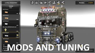 ETS 2 TUNING AND MODS 1.24