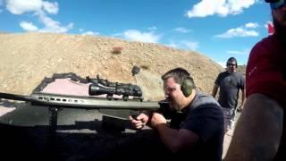 Barrett M82A1 @ Vegas Pro Gun Club