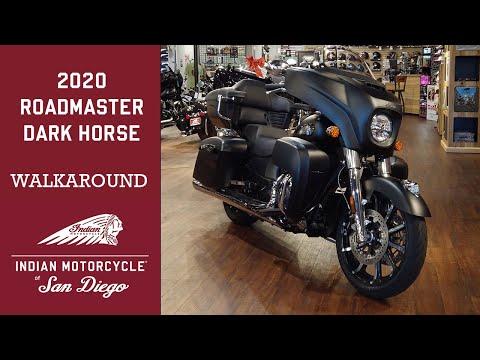 2020 Indian Roadmaster® Dark Horse® in San Diego, California - Video 1