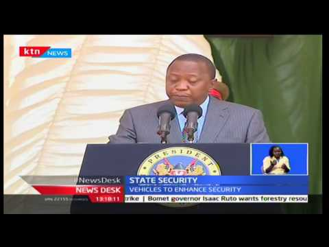 Uhuru Kenyatta: Security vehicles to improve police capability and response