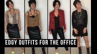 Edgy Outfits For The Office