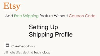 How to add a coupon code to etsy discount code most popular videos how to add free shipping feature without coupon code on etsy shop fandeluxe Images