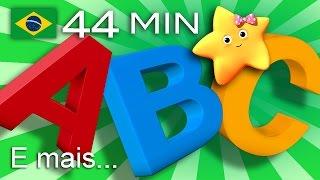 Canção ABC Das Bolhas | E Muitas Mais Canções De Ninar | LittleBabyBum!