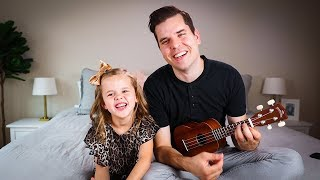 Hakuna Matata - 6-Year-Old Claire And Dad (MAJOR Claire Laugh Attack 😂) Lion King Song