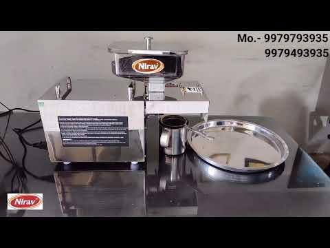 Oil Expeller Pressing Machine