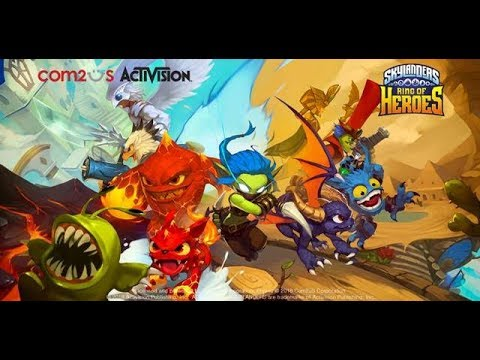 Skylanders™ Ring of Heroes Beta Video