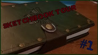 Sketchbook Tour #1 (January 2018 - July 2018)