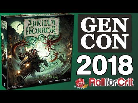 Arkham Horror 3rd Edition Impressions   Gen Con 2018