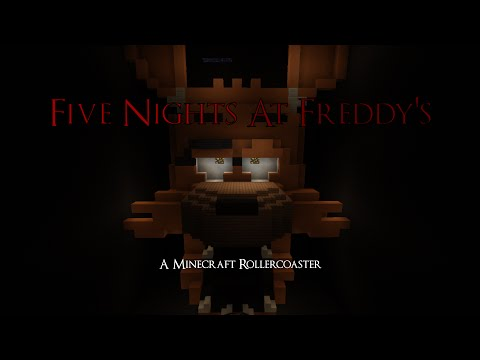 FNAF Rollercoaster Minecraft Project