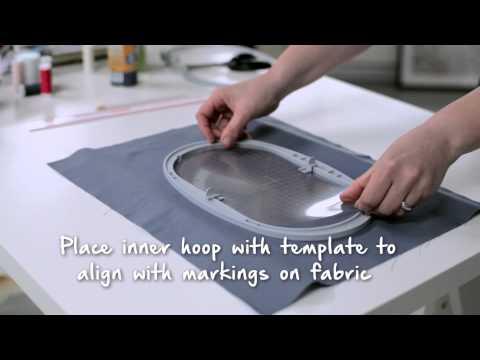 Подготовка к вышивке