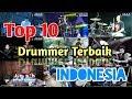 10 drummer terbaik di indonesia