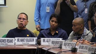Ex-rebel confesses to Senate: 'I was student by day, NPA by night'