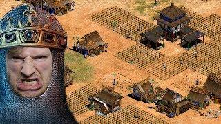 Maxim vs Hans - 1v1 - Das Lategame... | Age of Empires 2 [#23]