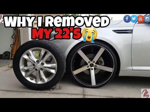 Why I took 22's off my Kia Optima😭