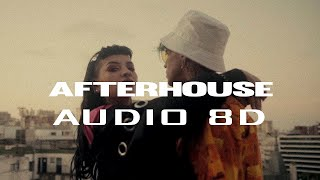 AFTER HOUSE   C.R.O Ft. CAZZU (AUDIO 8D)