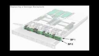 Replacing a Storage Drive Backplane - Sun Server X4-2