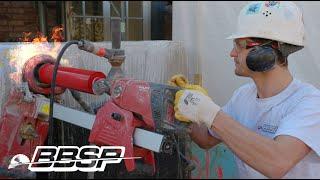 Durch 30cm starken Beton bohren – mit Hilti DD 150-U - BBSP
